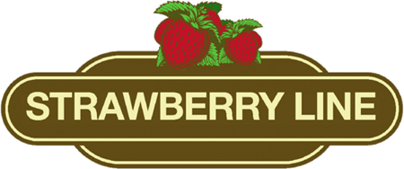 The Strawberry Line logo