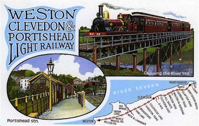 Poster of the old Weston, Clevedon & Portishead Light Railway