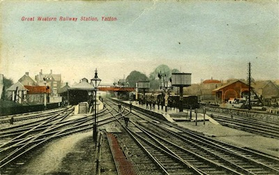 yatton to clevedon trains in the 1950s